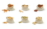 Nuts and seeds Stock Photography