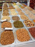 Nuts and Seeds for Sale  Royalty Free Stock Images