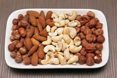 Nuts Snack Stockbild