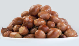 Nuts - Spanish red peanuts Stock Photos