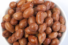Nuts - Spanish red peanuts Royalty Free Stock Image