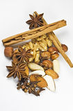Nuts and spice Royalty Free Stock Images