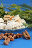 Nuts and spice Royalty Free Stock Photos
