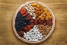 nuts torkade frukter royaltyfria foton