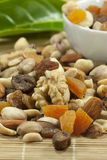Nuts und getrocknete Früchte Stockfotografie