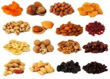 Nuts und getrocknete Früchte Lizenzfreie Stockfotos