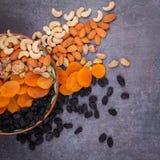Nuts und getrocknete Fruchtmischung Lizenzfreies Stockbild