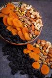 Nuts und getrocknete Fruchtmischung Stockbild
