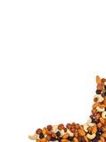 Nuts und trockener Fruchthintergrund Lizenzfreies Stockbild