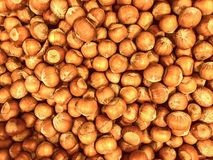 Nuts, Unshelled, Filberts, Food background Royalty Free Stock Photo