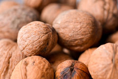 Nuts up close Stock Image
