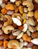 Nuts wallpaper Royalty Free Stock Photos