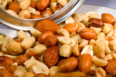 Nuts1 Royalty Free Stock Photos