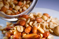 Nuts3 Fotografie Stock