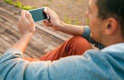 Nuttig ding - smartphone stock foto