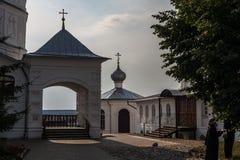 Nutting in het klooster stock afbeeldingen