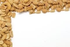 Nutty border Stock Photography