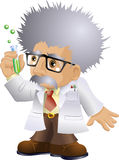 Nutty Professor stock illustration