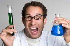 Nutty Professor. Crazy mad nutty professor scientist royalty free stock photo