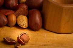Nutty snack Stock Photos