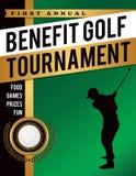 Nutzen-Golf-Turnier-Illustration lizenzfreie abbildung