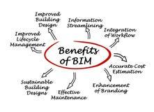 Nutzen von BIM stock abbildung