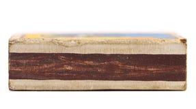 Nutzfläche der Streichholzschachtel. Stockfotos