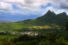 Nuuanu Pali State Park, O Ahu, Hawaii Stock Image