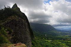 Nuuanu Pali State Park, O Ahu, Hawaii Stock Photos