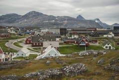 Nuuk, capital de Gronelândia foto de stock royalty free