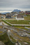 Nuuk, Capital of Greenland Stock Image