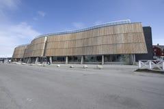 Nuuk, centro da cultura e cinema imagens de stock royalty free