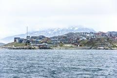 Nuuk Groenland stock fotografie