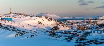 Nuuk krajobraz Obraz Stock