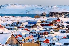 Nuuk krajobraz Fotografia Royalty Free