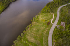 Nuuksio nature reserve Stock Image