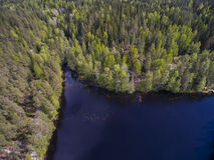 Nuuksio nature reserve Stock Photo