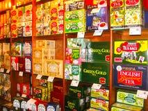 Nuvara Eliya Sri Lanla, Maj 03, -, 2009: Herbaciany sklep przy Mackwoods Ograniczał PVT fabrykę Obraz Royalty Free