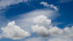 A nuvem é branca imagem de stock royalty free