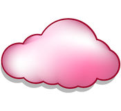 Nuvem ilustração royalty free