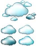 Nuvem ilustração stock