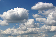 Nuvem Foto de Stock Royalty Free