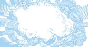 Nuvem Imagens de Stock Royalty Free