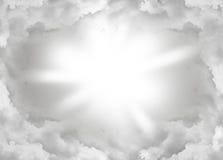 Nuvem abstrata Fotografia de Stock Royalty Free