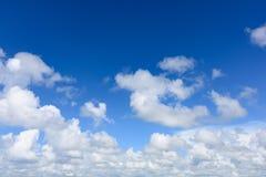 Nuvem abstrata do céu Imagem de Stock