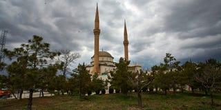 Nuvem bonita em uma mesquita Foto de Stock Royalty Free