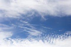 Nuvem branca Fotografia de Stock