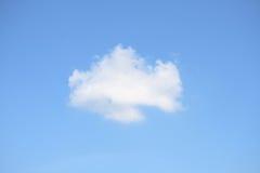Nuvem branca Imagens de Stock