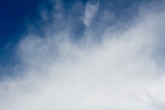 Nuvem branca Foto de Stock Royalty Free