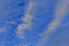Nuvem branca Fotos de Stock Royalty Free